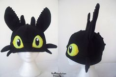 Toothless Hat by Kai45 on Etsy, $60.00. I'm going to get this for Casen to wear at his party
