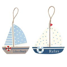 Wholesale Sailboat wall plaque - Something Different