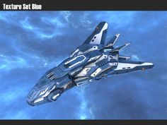 model Spaceship Stealth Fighter Werewolf space spaceship, formats OBJ, FBX, ready for animation and other projects