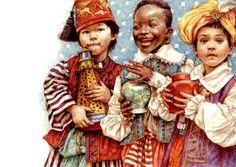 Anne Yvonne Gilbert | Tthree little kings | Anne Yvonne Gilbert |