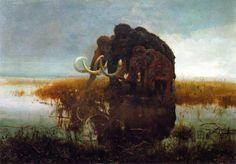 Mammoths - Zdeněk Burian
