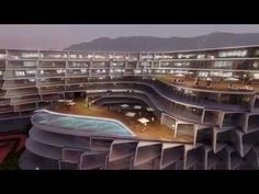 ESFERA Monterrey - Zaha Hadid Arquitects - YouTube Arquitectos Zaha Hadid, Zaha Hadid Architects, Famous Architects, Interior Architecture, Interior Design, Beautiful Buildings, Mansions, House Styles, Shelters