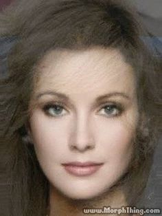 A morph of  Jane Seymour, Morgan Fairchild, Marilyn McCoo, and Vivien Leigh