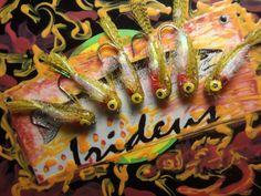 Irideus Hand Painted Minnow Chico Baitfish Trout Collection Fly Fishing Flies #Irideus