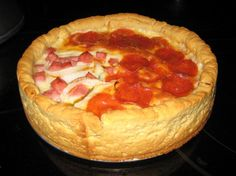 Chicago style deep-dish pizza dough    FANTASTIC recipe! This mixed up easily and tasted great! I will so be making this again!