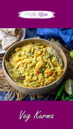 Mix Veg Recipe, Veg Kurma Recipe, Mix Vegetable Recipe, Sabzi Recipe, Vegetable Recipes, Vegan Ethiopian Recipes, Healthy Indian Recipes, Tasty Vegetarian Recipes, Spicy Recipes