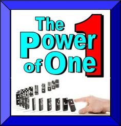 the power of one - Google Search