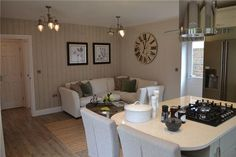 Kitchen/Dining Area Show Home