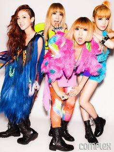 K-Pop Sensation 2NE1 Dresses Up in Jeremy Scott, Givenchy, and Balmain for Complex | Complex