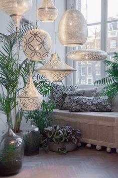 Gabs Filigrain Pendant Silver - The Moroccan Collection by Pendalier!