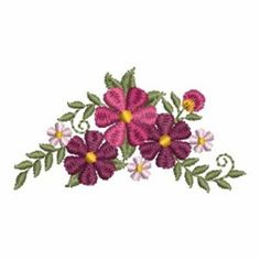 embroidery floral designs for borders - Google Search