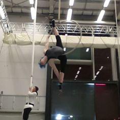 """357 Likes, 19 Comments - Miranda Aerial-Hoop Artist (@that_circus_freak) on Instagram: """"Aerial hoop sequence, so in love with aerial hoop ♥ #aerialhoop #lyra #aerialring #cerceaux…"""""""
