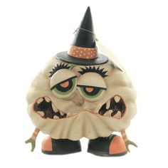 Measurements : In H X In W X In D. Color: Off-white. Halloween Gourds, Halloween Items, Halloween Design, Halloween Town, Spirit Halloween, Holidays Halloween, Baby Halloween, Halloween Decorations, Halloween Crafts