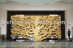 Love the detail on this piece. Work work for mosiacs too?  Golden Tree Hotel Wall Sculpture With 24k Real Gold - Buy Sculpture,Wall Sculpture,Lobby Sculpture Product on Alibaba.com