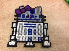 Hello Kitty R2-D2 perler beads by Amanda Collison