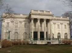 Newport Mansions, Newport Picture: The Elms - Rear Exerior - Check out TripAdvisor members' 11,673 candid photos and videos of Newport Mansions