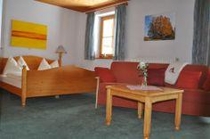 Eines unserer gemütlichen ZImmer Love Seat, Couch, Furniture, Home Decor, Cosy Room, Small Hotels, Settee, Decoration Home, Sofa