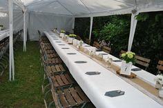Hochzeit, Tischgedeck, Hortensien
