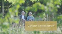 Genieten in de binnentuin van TOREN   wonen in Hoorn.
