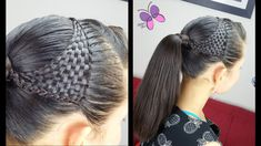 Basket Woven Ponytail - Basket wave | Cute Girly Hairstyles | Hairstyles...