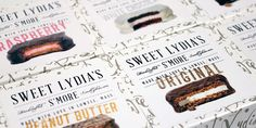 sweet lydia's vie the dieline