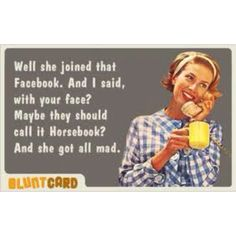 I love the vintage chick and the snarky sense of humor  :-)
