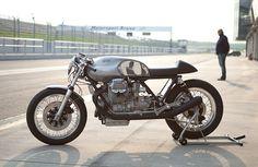 Kaffe Maschine - Moto Guzzi. Moto Guzzi just moved up on my fantasy list of motorcycles.