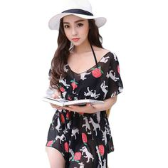 $26.98 (Buy here: https://alitems.com/g/1e8d114494ebda23ff8b16525dc3e8/?i=5&ulp=https%3A%2F%2Fwww.aliexpress.com%2Fitem%2FThree-Pieces-Bikini-Printing-Floral-Bandage-Halter-Biquini-Beach-Wear-Push-Up-Padded-Bathing-Suits%2F32676333632.html ) Three Pieces Bikini  Printing Floral Bandage Halter Biquini Beach Wear Push Up Padded Bathing Suits Robe De Palage DB103 for just $26.98