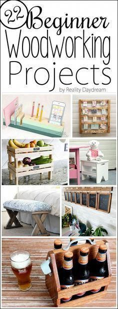 We're sharing a ton of super easy DIY Beginner Woodworking Projects for you to try your hand at. Reality Daydream 29 [FILENAME] Beautiful Easy Woodworking Plans You Can Create Yourself Woodworking Projects That Sell, Learn Woodworking, Popular Woodworking, Woodworking Crafts, Woodworking Plans, Woodworking Furniture, Woodworking Basics, Woodworking Techniques, Custom Woodworking