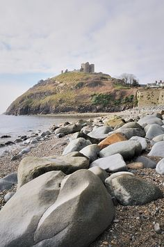 ~Criccieth Castle, Caernarfonshire, Wales, UK built by Prince Llywelyn ab Lorweth in Wales Uk, North Wales, Yorkshire England, Cornwall England, Yorkshire Dales, Places To Travel, Places To See, Travel Humor, Travel Tourism