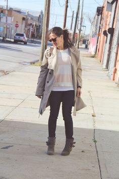 Fall Fashion #handm #forever21 #targetstyle #paigedenim #kennethcole #layers #redhook #brooklyn