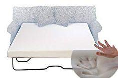 Sleeper Sofa Memory Foam Mattress Queen 60 x 72 x Memory Foam Sofa Mattress. Get a memory foam mattress to upgrade your fold-out sleeper sofa.