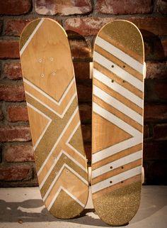 hippanonymous: Glitter Skateboard DIY
