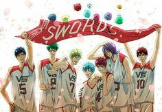 Fan Anime, Anime Love, Vorpal Swords, Gakuen Babysitters, Kiseki No Sedai, Akakuro, Generation Of Miracles, Gekkan Shoujo Nozaki Kun, Skullgirls