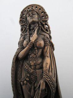 Goddess Brigid Jewelry | Goddess Bridget Statue - aka Brigid, Bride, Brigit