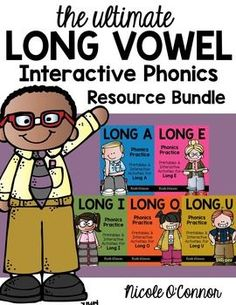Amazing!! Interactive long vowel phonics resources!! This is BIG!!