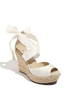 Expensive wedges are expensive. And really cute. Too bad the last thing I need is to wear heels.