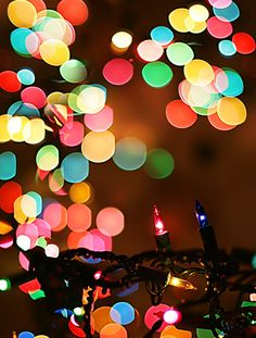 Christmas lights glisten. I've got my eye on the door, just waiting for you to walk in.