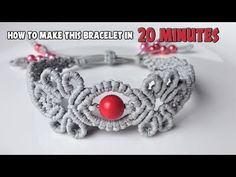 How to macrame - The Navita earrings - macrame jewelry set - YouTube