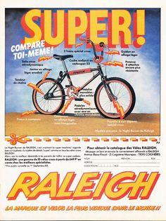 Retro Advertising, Retro Ads, Bmx Bikes, Cool Bikes, Raleigh Burner, Bmx Bandits, Raleigh Chopper, Bmx Cycles, Raleigh Bikes