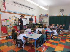 Members of Binghamton Fire Department discuss fire safety with students at St. Fire Safety, Saint James, Fire Department, Early Childhood, Students, School, Santiago, Infancy, Firemen