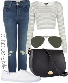 """eleanor inspired outfit for a football game"" by eleanor-calder-outfits ❤ liked on Polyvore"