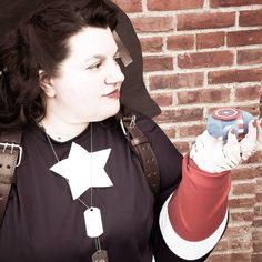 """Professional cosplayer Margaret """"Peggy"""" Carter, Cheryl Tunt from Archer and Jyn Erso from Rogue One. Upcoming events: OC Con, Jersey Shore Comic Book Show,. Peggy Carter, Agent Carter, Cheryl Tunt, Hayley Atwell, Marvel Cosplay, Book Show, Upcoming Events, Chris Evans, Shakespeare"""