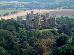 Belvoir Castle near Grantham, England
