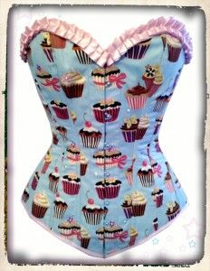 Cupcake corset