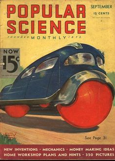 Popular Science (PopSci) is an American monthly magazine carrying popular science content, that is, articles for the general reader on science and technology subjects. Popular Science has won over 58