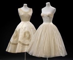 Pierre Balmain Dress and Petticoat ca. 1950