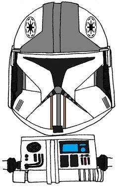 Clone Army Pilot Helmet 1