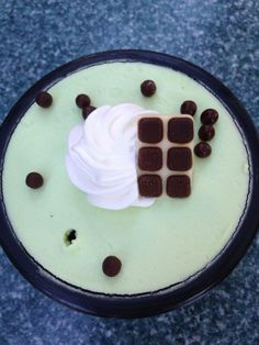 Minty Grasshopper Pie