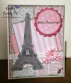 Cricut Everyday Pop Up Cards Thank You Card using CardzTV Stamps